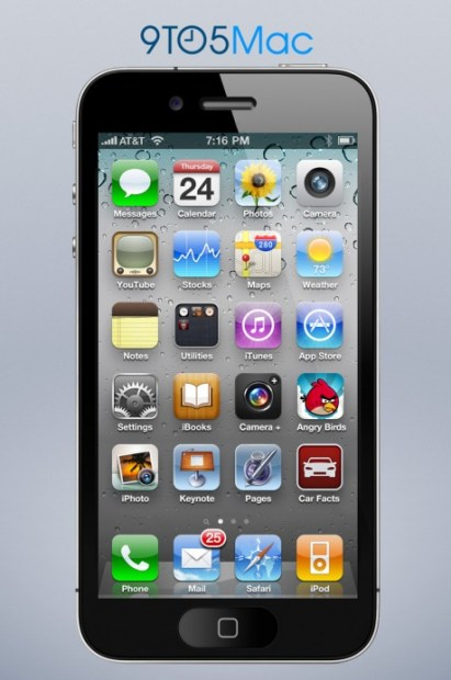 What a 4-Inch iPhone 5 Might Look Like