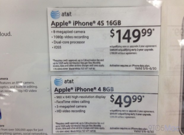 Target Discounts iPhone 4S and iPhone 4
