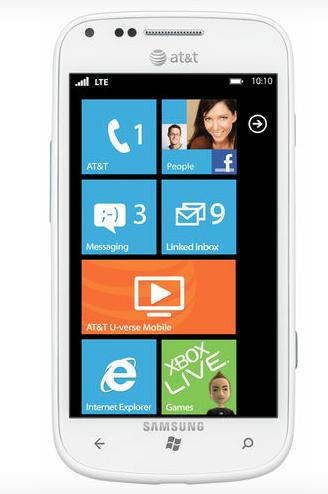 AT&T Samsung Focus 2
