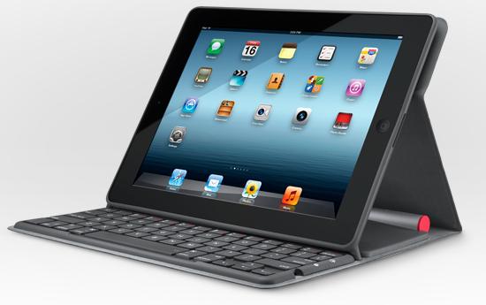 Logitech Solar-powered iPad Keyboard Nevers Needs Charging