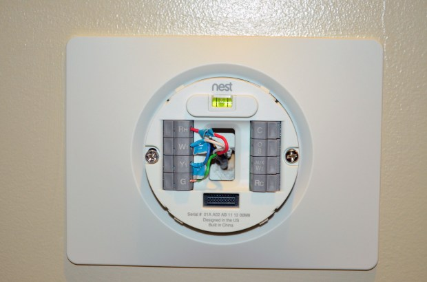 Nest Learning Thermostat Installation - 5