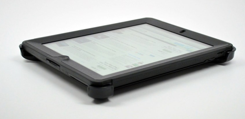 New iPad OtterBox Defender Case Review - case on back