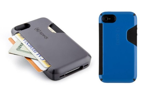 Speck CandyShell Card iPhone 4S wallet case.