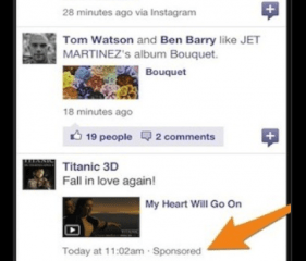Facebook app ads