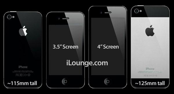 iPhone 5 4-inch metal back design
