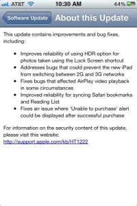 iOS 5.1.1 on iPhone 3GS: Final Impressions and Performance
