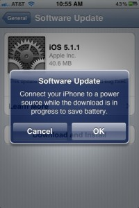 iOS 5.1.1 on iPhone 3GS: First Impressions and Performance
