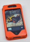 Sena WalletSlim iPhone 4S Wallet Case Review - front orange
