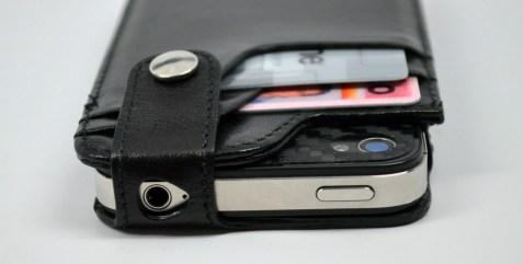 Sena WalletSlim iPhone 4S Wallet Case Review - top