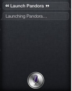 Siri Launches Apps