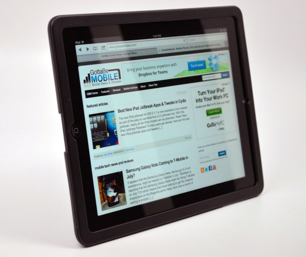 SlateSHIELD Review - kickstand front