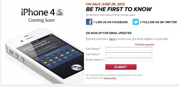 Virgin Mobile iPhone 4s