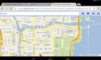 Google Chrome Browser for Android let beta