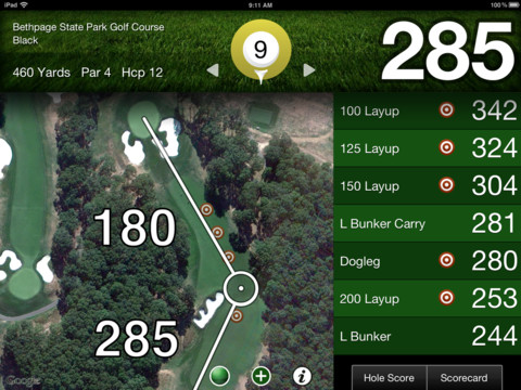 Golfshot golf gps