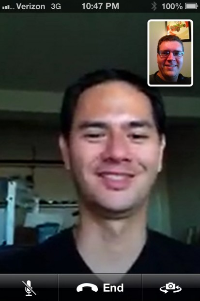 iOS 6 Hands On - FaceTime over 3G
