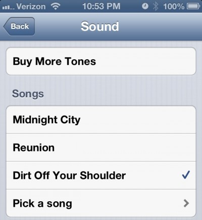 iOS 6 Hands On - Music Alarms