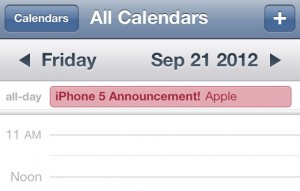 iPhone 5 Release Date in September