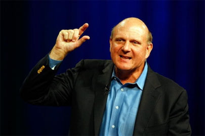 Microsoft's Steve Ballmer routinely has issues with connecting directly to users.