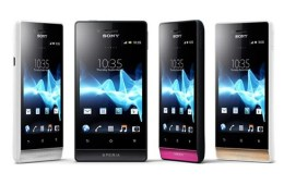 Sony Unveils Four New Xperia Smartphones