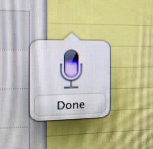 Dictation OS X Mountain Lion