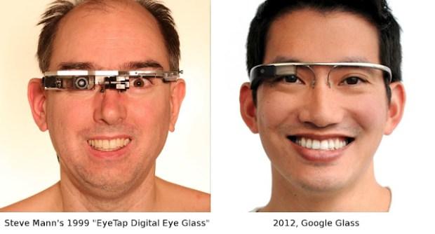 Eye Tap Google Glass