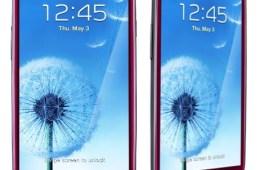 Garnet Red Samsung Galaxy S III