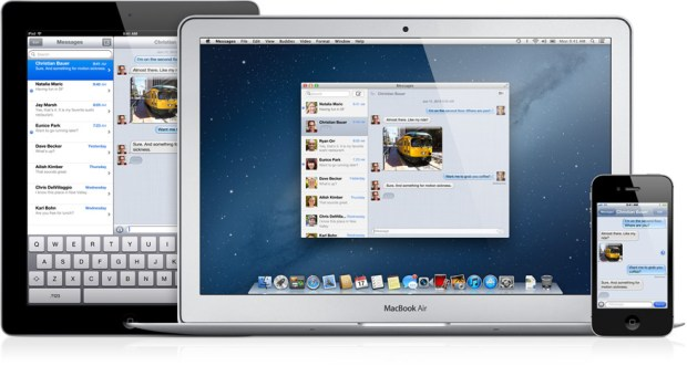 Messages on all iOS and OS X Devices