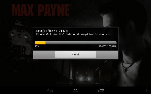 Nexus 7 Game issues