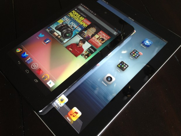 Nexus 7 vs iPad