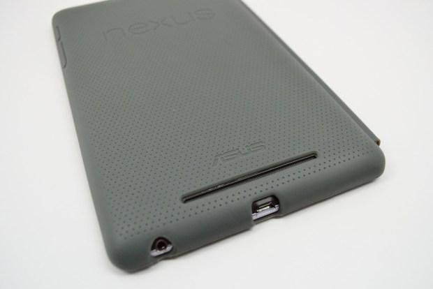 Official Nexus 7 Case Review - speaker