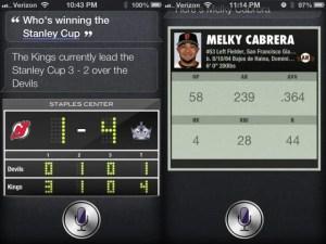 Siri Sports Addict