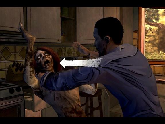 The Walking Dead iPad game