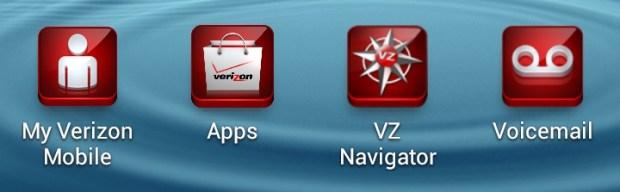 Verizon Apps Galaxy S III