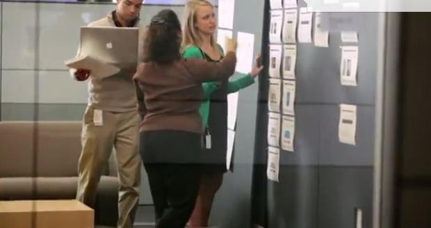iPhone 5 in recruiter video