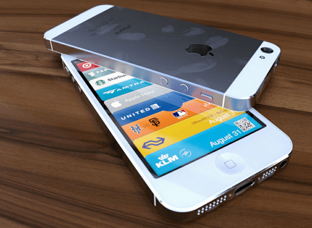 iPhone 5 photo rendering