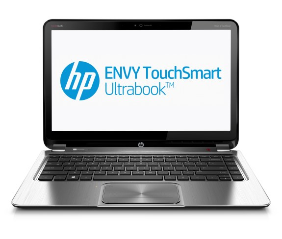 HP ENVY TouchSmart Ultrabook 4_front