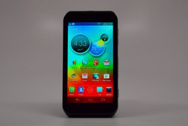 Motorola Photon Q 4G LTE Review - open keyboard