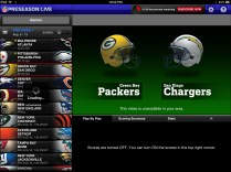 NFL Preseason Live Review iPad - Blackout