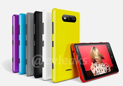 Nokia Lumia 820 leak