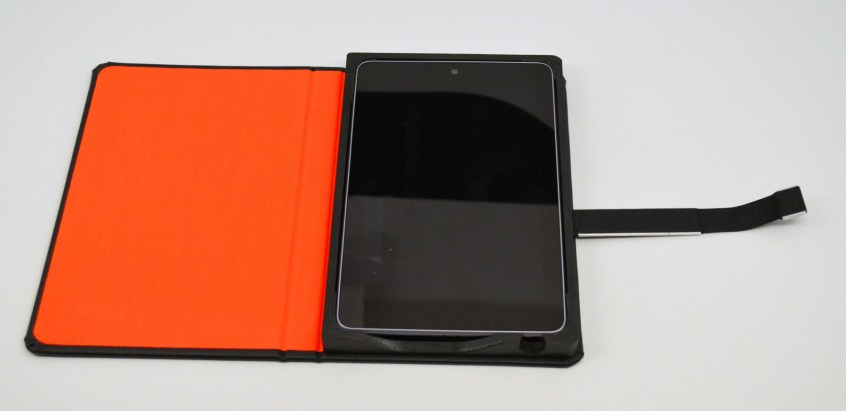 TreeGloo Nexus 7 Case Review - open flat