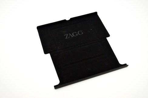 Zagg Flex Keyboard Review - Nexus 7 stand flat