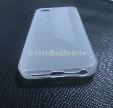 iPhone 5 case headphone jack bottom