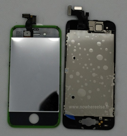 iPhone 5 front panel assembly
