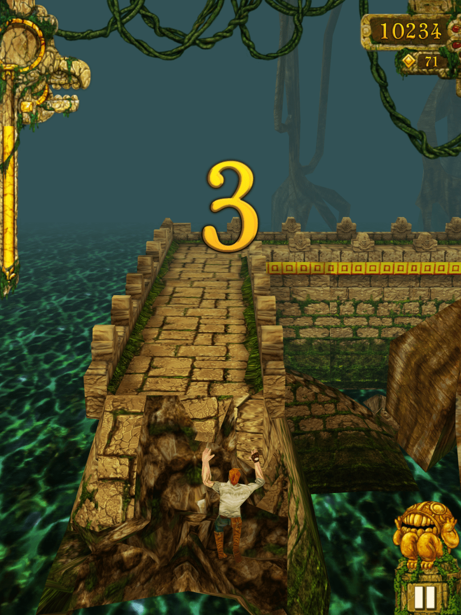 Temple Run Reaches 100 Million Downloads In Just 1 Year