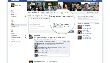 Facebook Dropbox partnership