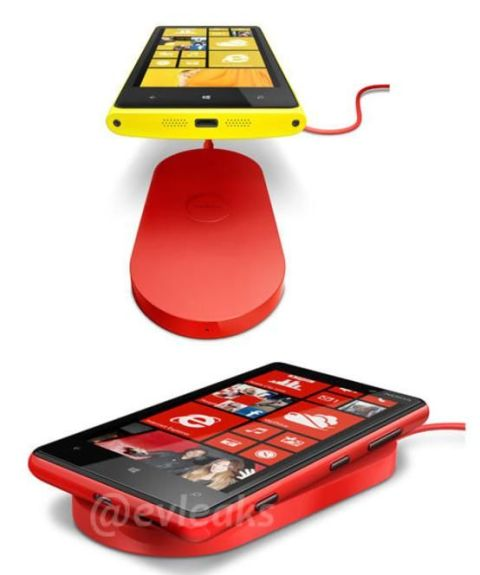Lumia 920 Wireless Charging