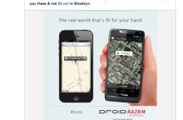 Motorola Apple Maps iLost ad