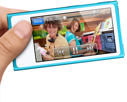 New iPod Nano Widescreen Display