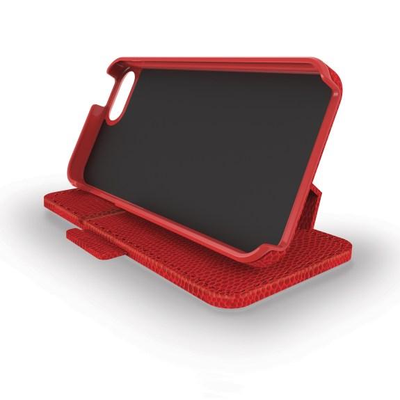 Portafolio Duo Waller iPhone 5 Red Snake Front Horizontal