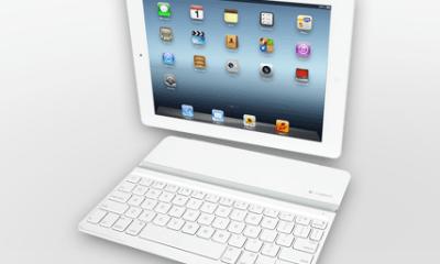ipad logitech keyboard white